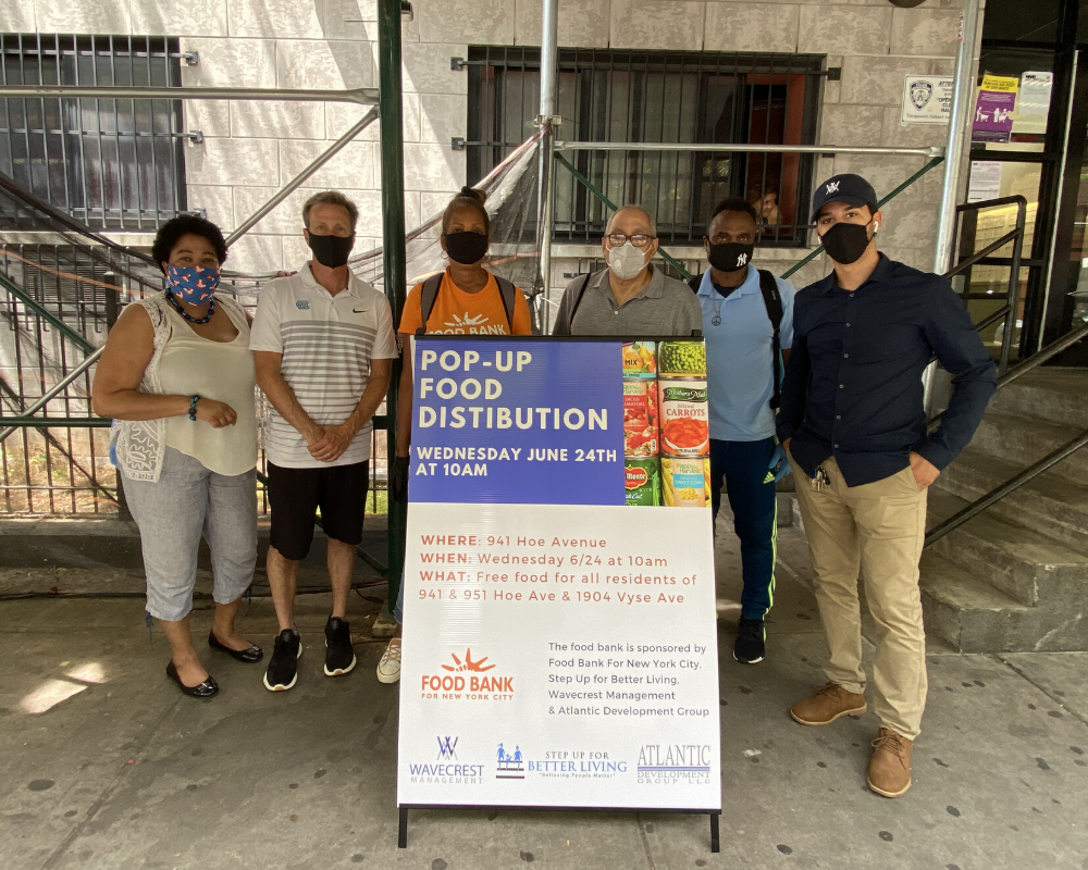 help food insecurity in the Bronx